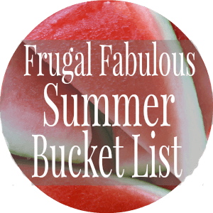 Summer Bucket List - penniesintopearls.com - Tips to have a memorable summer this year but without having to spend more than a couple pennies!