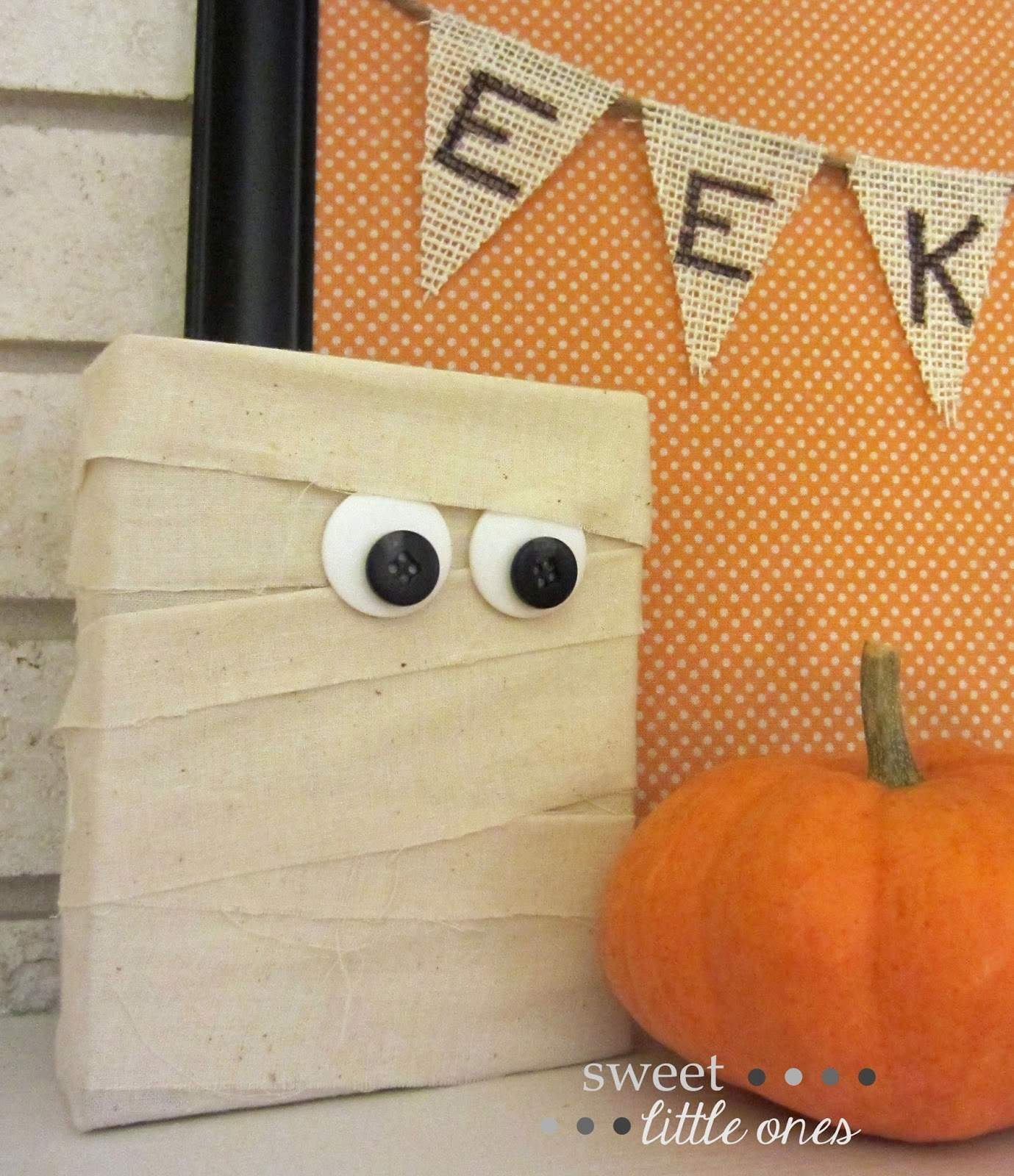 Wood Mummy Craft - Get Your Shine On Link Party
