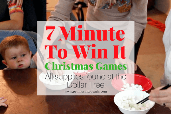 7 Minute To Win It Games From The Dollar Tree